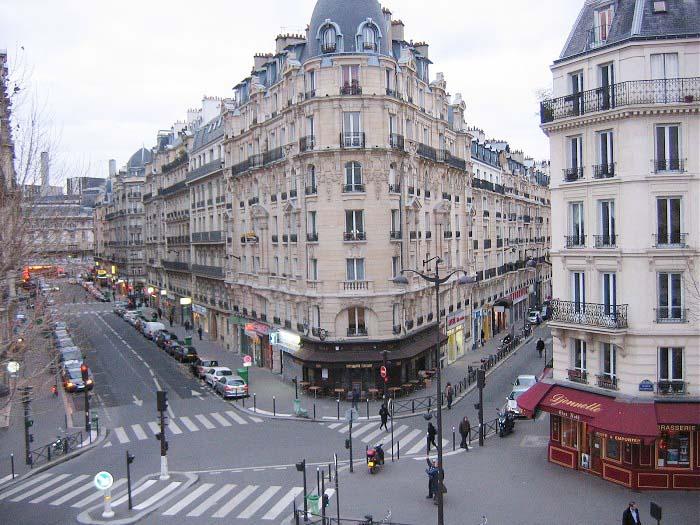 Фото и описание парижских улиц